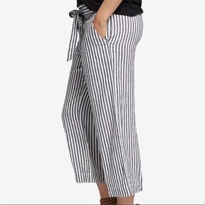 Sanctuary Sasha striped linen pants size 26